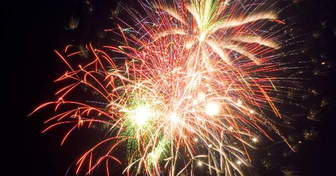 Fireworks At CONKERS Young Reporter