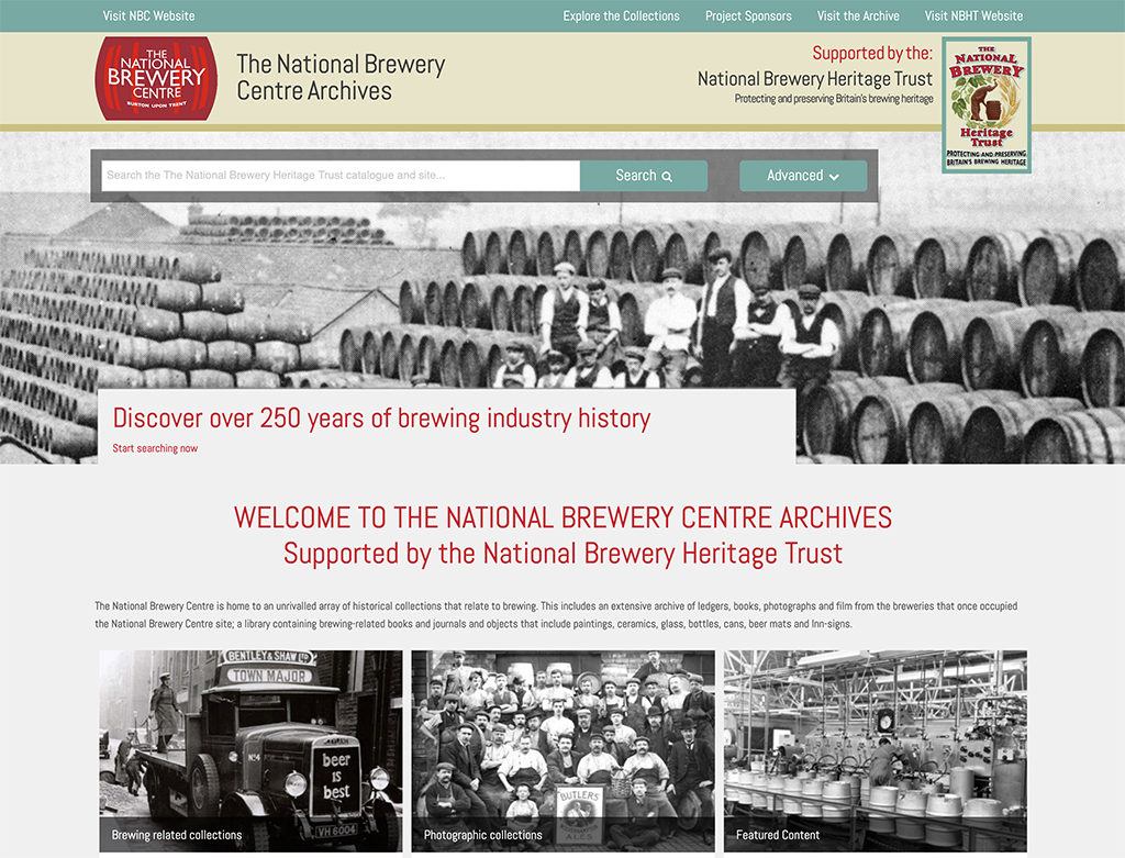 The National Brewery Centre Archive