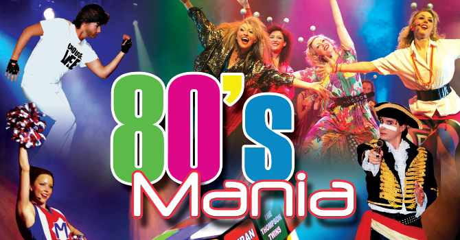 TOTAL 80s Saturday 2nd Sept