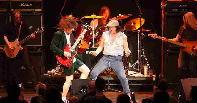 AC/DC tribute LIVE WIRE  plus Jimi Hendrix